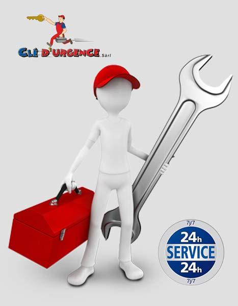Service de Serrurier 24h/24 7j/7
